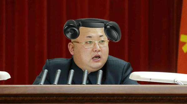 金正恩氏がヘアスタイルを一新する