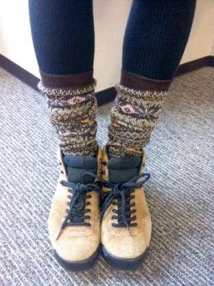 冬の足元のおしゃれ