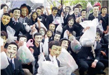 ハッカー集団のAnonymous、ISIS攻撃を宣言