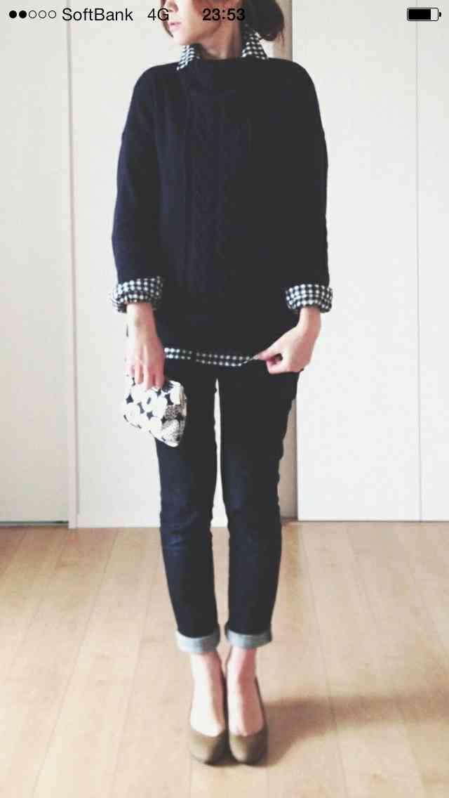 ギンガムチェックの服が好きな方