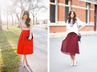 ミモレ丈のスカートはいていますか?