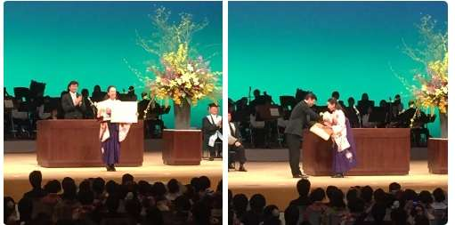 浅田真央、ピンクの袴姿で大学卒業!今後は「分からない」