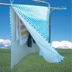 花粉飛び交う季節のお洗濯