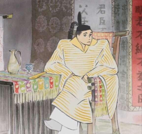 『かぐや姫の物語』に登場した帝のアゴが長すぎて集中できないとネットで話題にw
