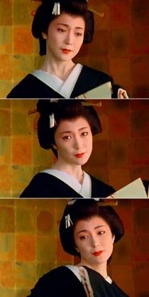 時代劇の女優さん
