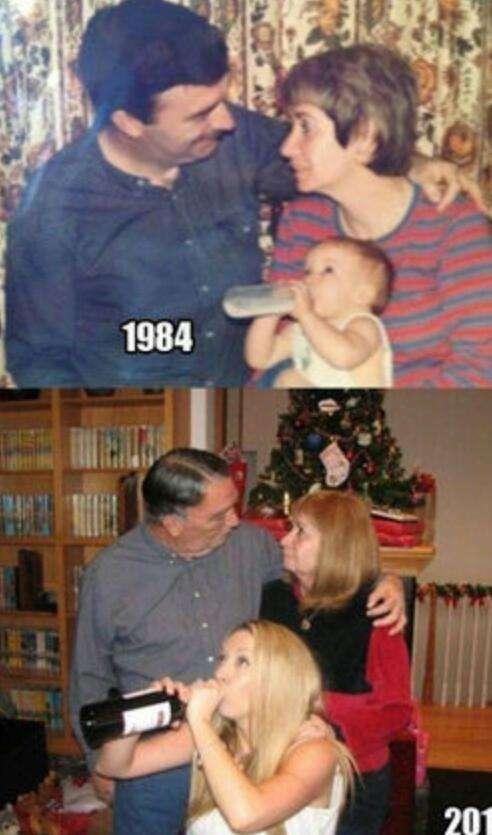 親子の画像写真