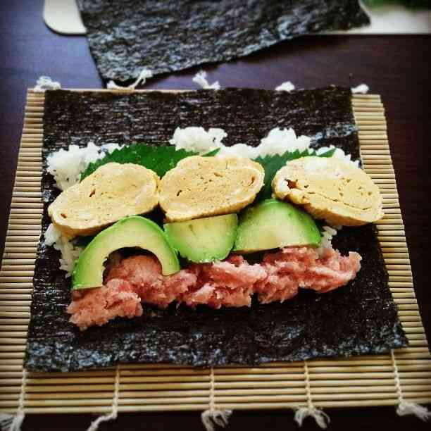 好きな手巻き寿司の具(組み合わせなど)