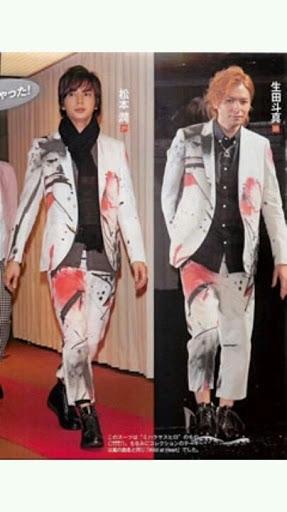 奇抜なファッションの芸能人の画像を貼るトピ