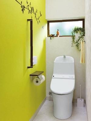 トイレに何か飾っていますか?