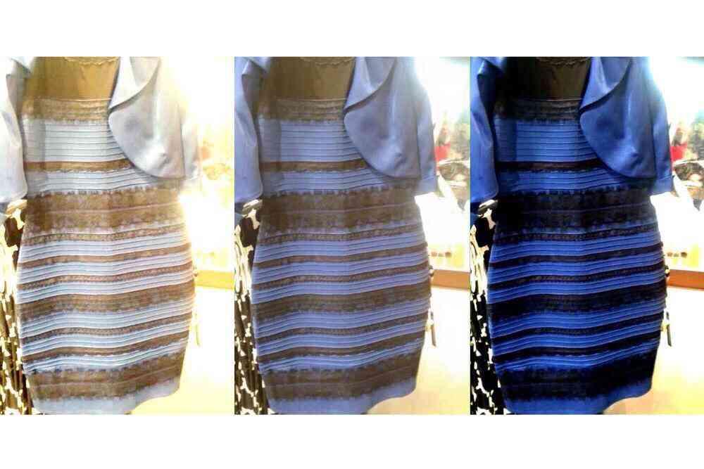 青?白?で話題のドレス、大反響で売り上げ4倍!