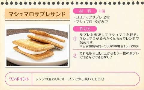 マシュマロはこう食べると美味しい!