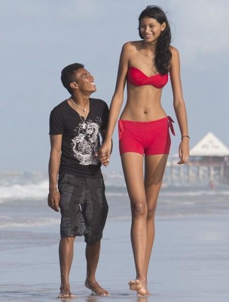 彼、旦那さんの方が背が低い人