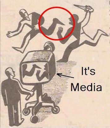 マスメディアの風刺