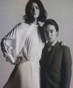 CM男性トップの濱田岳 意外だったモデル妻との