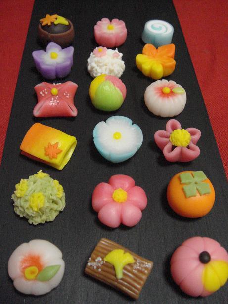和菓子好きな人集まれ~!