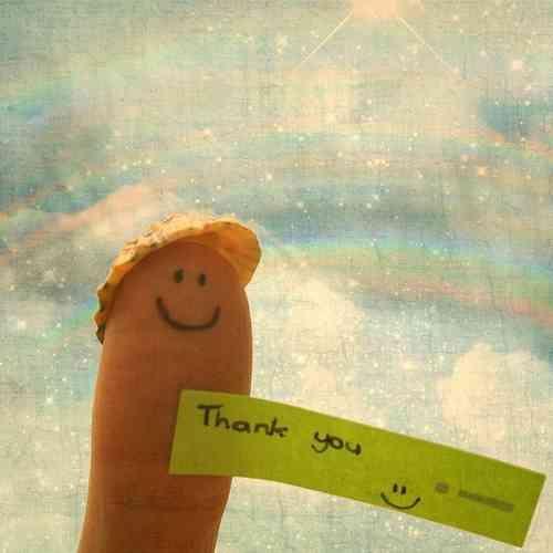 感謝の言葉が添えられた画像集まれ~
