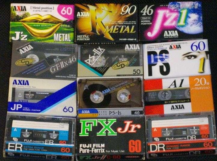 カセットテープが人気再燃。若者に人気