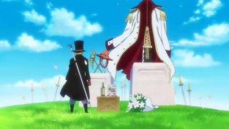 サボ壁紙、墓の前
