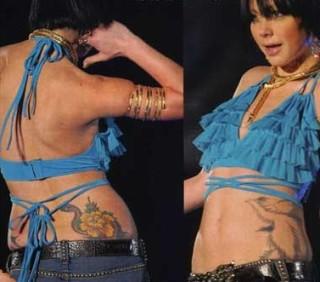 芸能人のタトゥー画像
