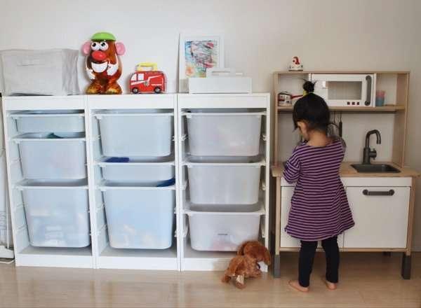 子供のおもちゃの保管
