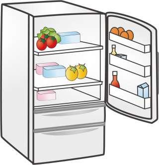 冷蔵庫の整理整頓術!!