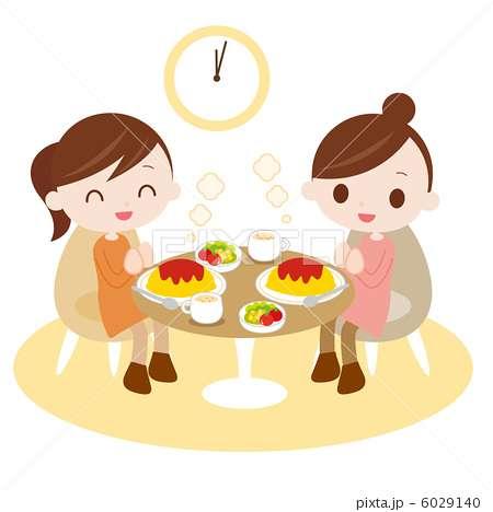 友達との食事時間