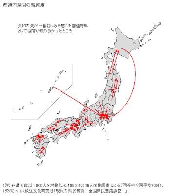 都道府県で仲良し二人組を作るとしたら、どんな組み合わせがふさわしい?
