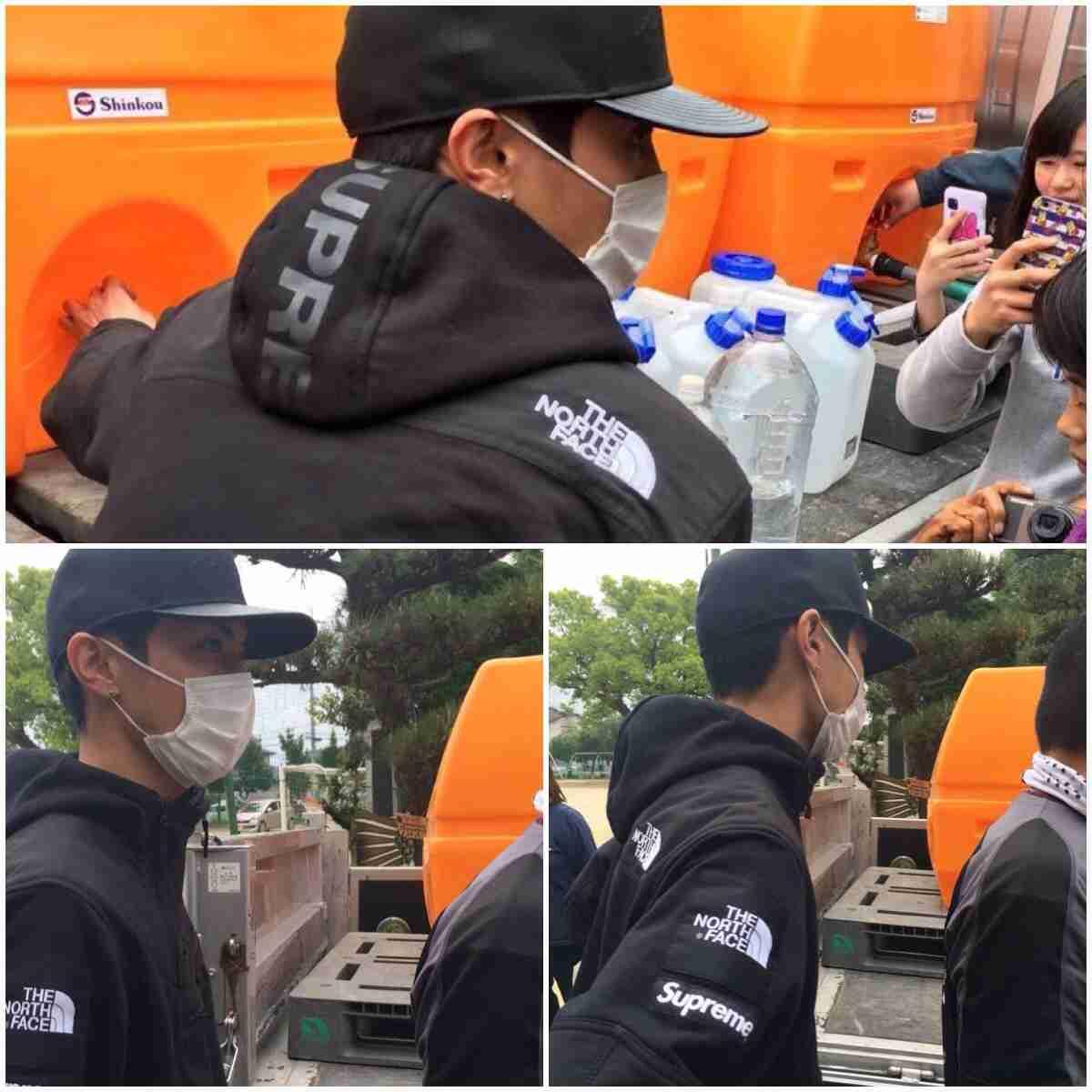 高良健吾がお忍びで熊本の避難所で給水活動 ネット上で拡散