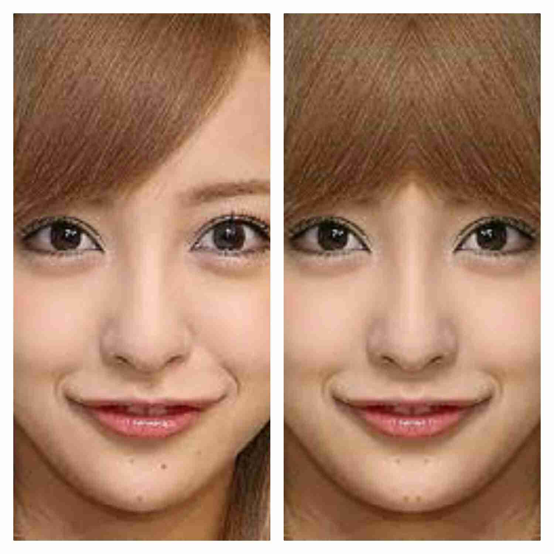 顔が左右対称の芸能人