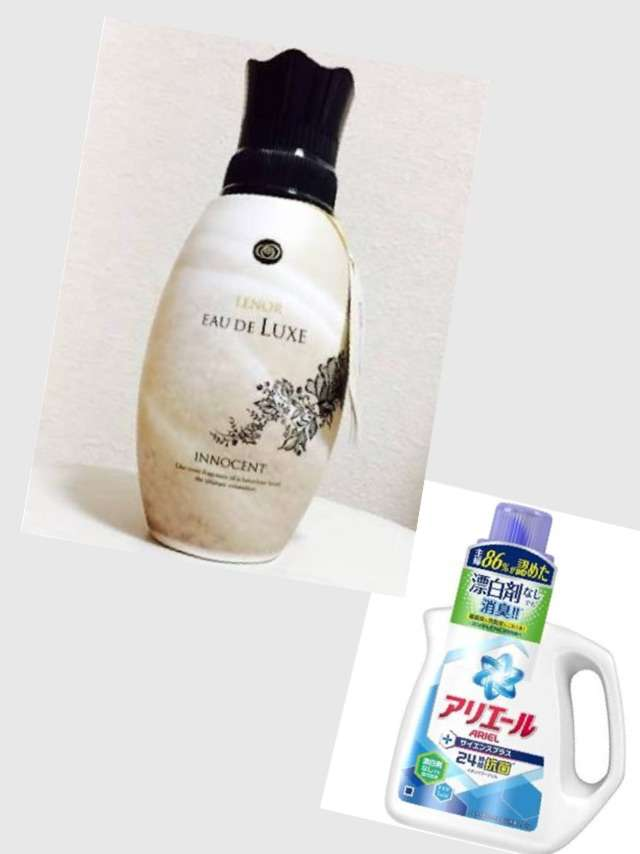 洗剤と柔軟剤のオススメの組み合わせ