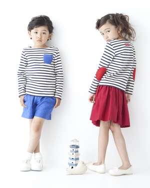 自分の子供の服装