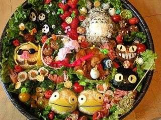 美味しそうな行楽弁当!