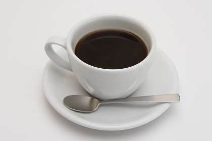 カフェイン中毒の人