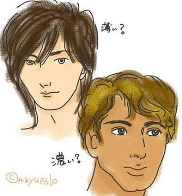 濃い顔と薄い顔どっちになりたい?