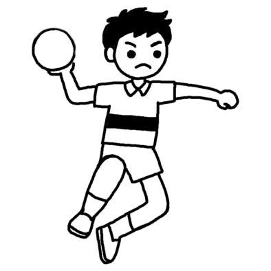 学生時代にハンドボールやっていた人