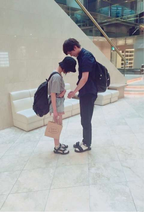 自分の身長と彼氏又は旦那の身長