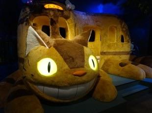 """ジブリ美術館に""""大人も乗れる""""ネコバス、新企画展示で復活"""