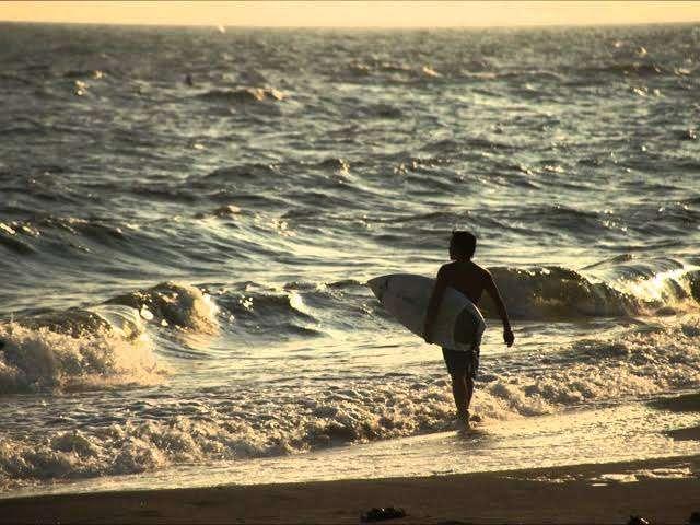 海あるある〜!
