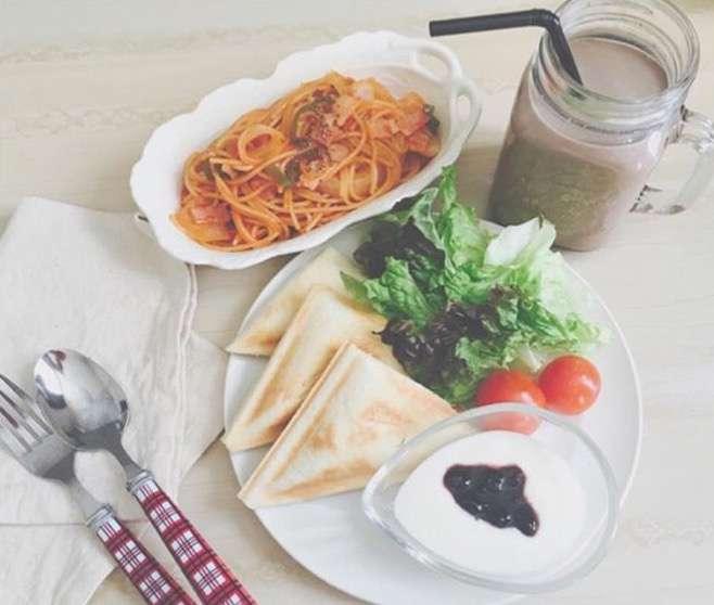 今日のお昼ごはん何ですか?