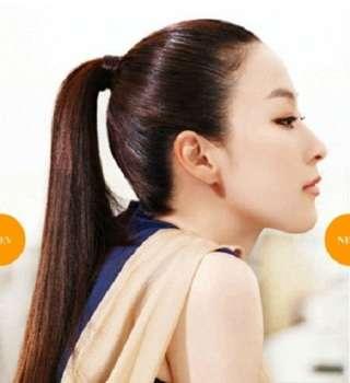 直毛さんのヘアアレンジ