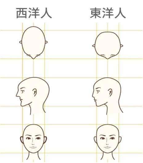 頭の形が悪い人