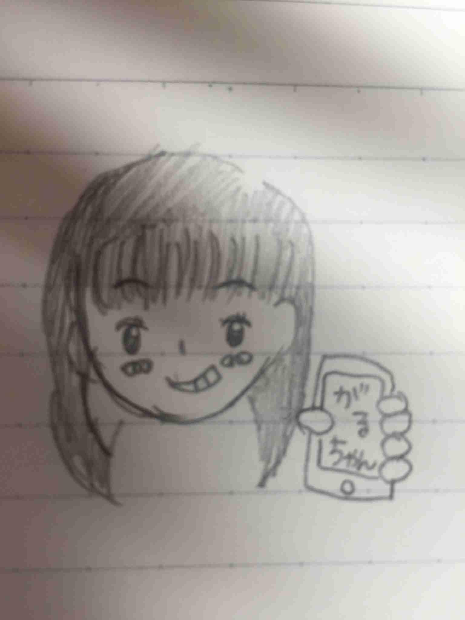 女の子の絵を描くトピ2☆