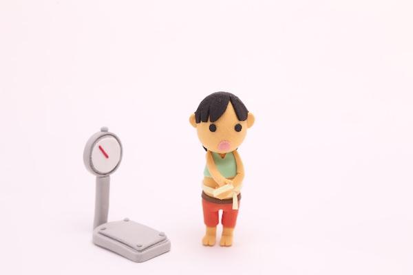 体重計に乗る頻度