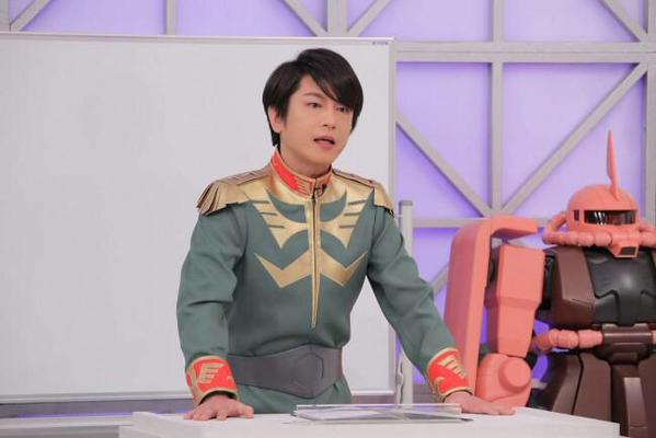 【ガンダム】実写化するなら「シャア」は誰? 3位は及川光博