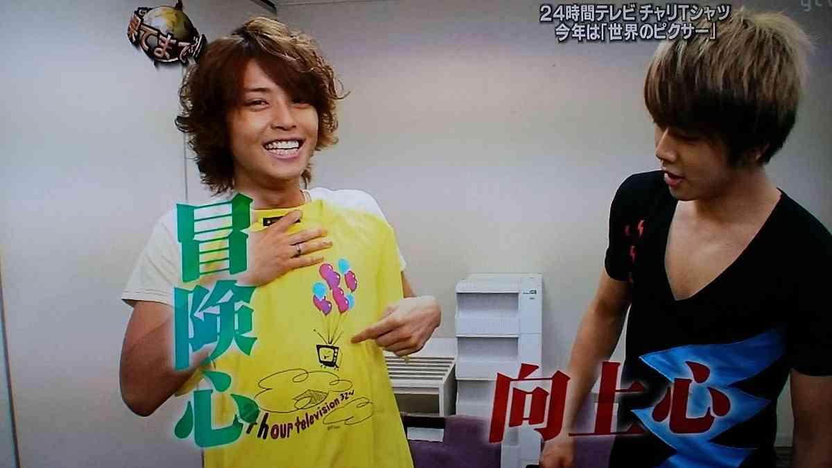 『24時間テレビ』チャリTシャツに蜷川実花氏写真 NEWS手越&小山も絶賛