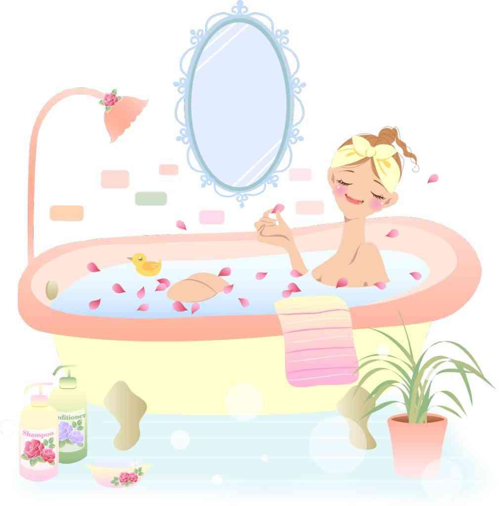 実はお風呂に入るのが面倒な方