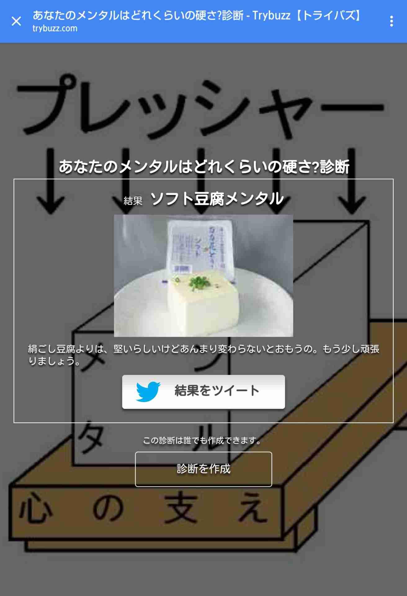 豆腐メンタルあるある
