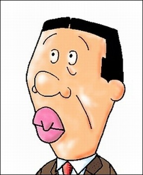 唇が薄い人!