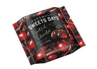 ベリー系のチョコやお菓子