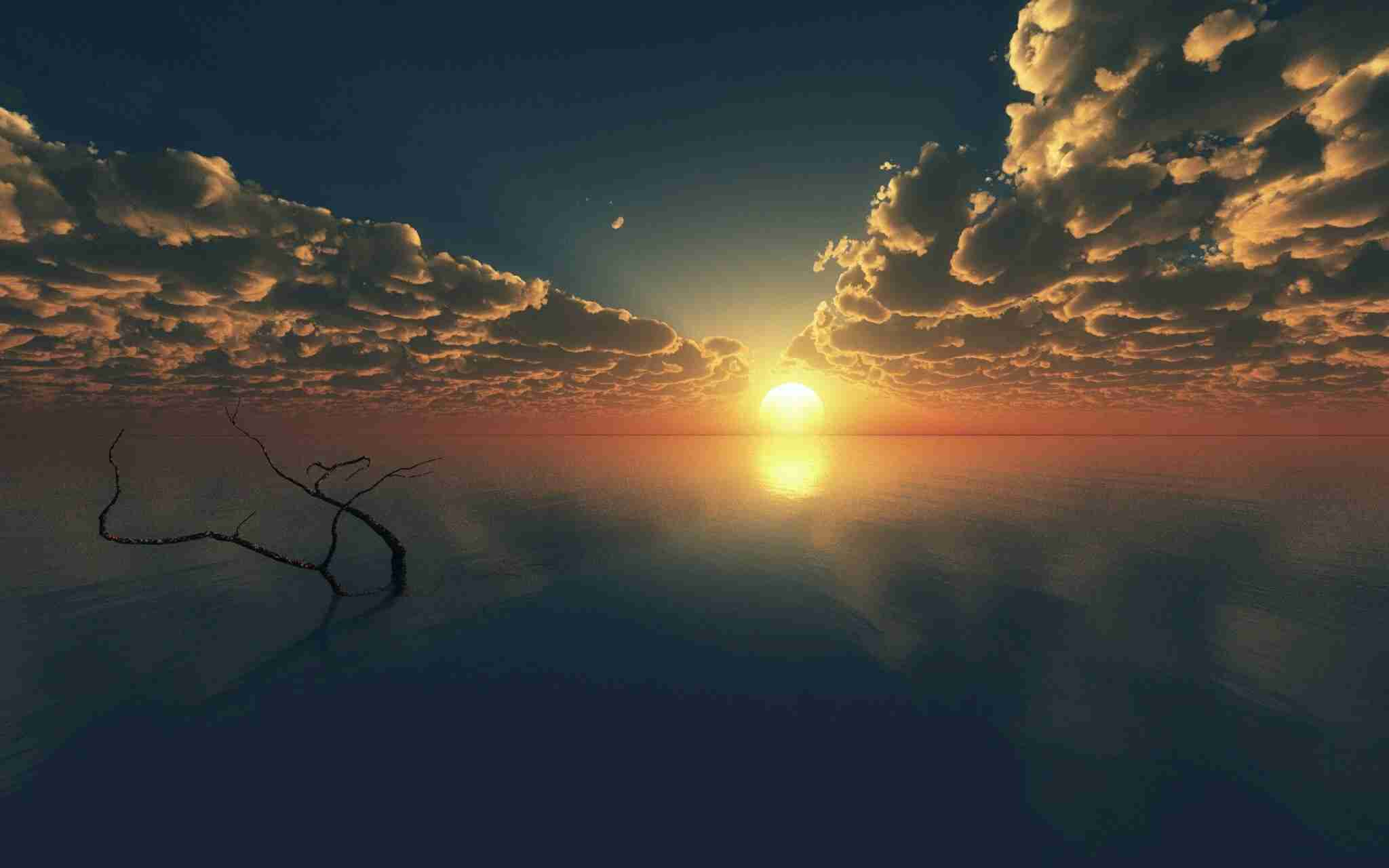 朝焼け、日の出の画像ください